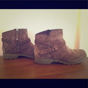 Teva Brown Ankle Boots